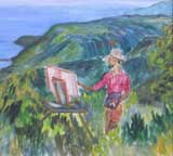 Dominica painting by Copper Love