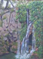 Krause Springs painting by Copper Love