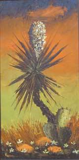 Yucca painting by Copper Love