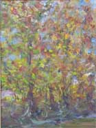 Painting by Copper Love Sycamores by the Creek