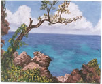 Jamaican Waters art by Copper Love